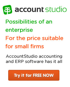 Reliable accounting and ERP software AccountStudio
